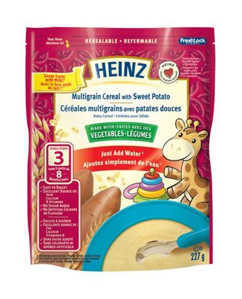 heinz sweet potato multigrain baby cereal walmart ca
