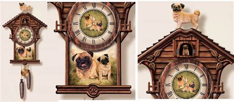 pug clocks pugs dogbreed gifts miscellaneous pug gifts