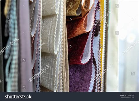 beautiful drapes and curtains beautiful drapes remarkable curtains stock photo 174242930