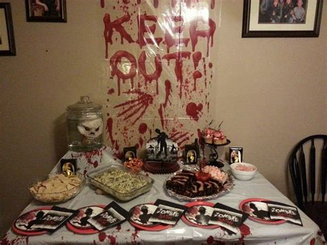 zombie themed birthday party 8 best walking dead party images on pinterest birthday