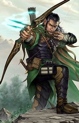 character  day  character blog rei hito wood elf archer rogue fighter