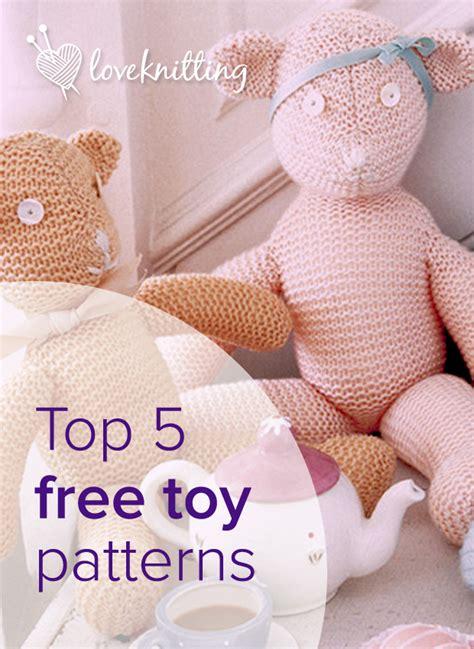 knitting patterns toys free downloads top 5 free patterns loveknitting