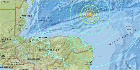 strong earthquake strikes  honduras ens