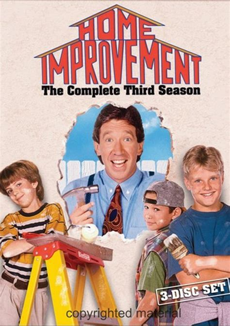 home improvement the complete third season dvd 1994