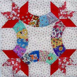 friendship knot quilt block wip q is for quilter