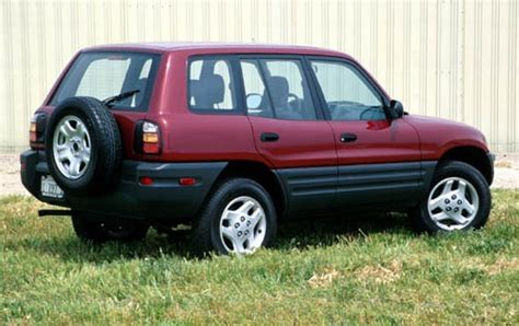airbag deployment 1999 toyota rav4 auto manual 1999 toyota rav4 options features packages