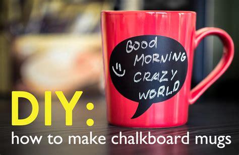 chalkboard paint for mugs diy gift chalkboard mugs inhabitat green design