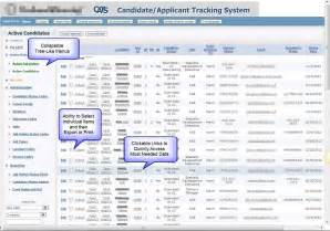 chris business solutions candidate applicant tracking system