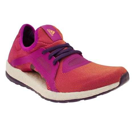 womens purple athletic shoes adidas pureboost x womens orange purple sneakers running