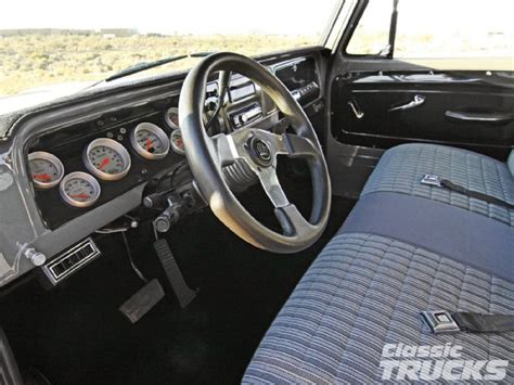64 interior project rod 65 chevy c10 stepside