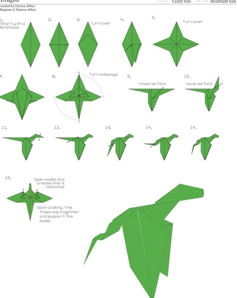 How Make Paper - direction make origami 171 embroidery origami