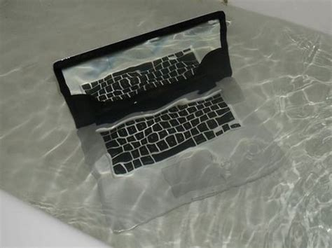 bathtub laptop what to do if you spilled water on your laptop