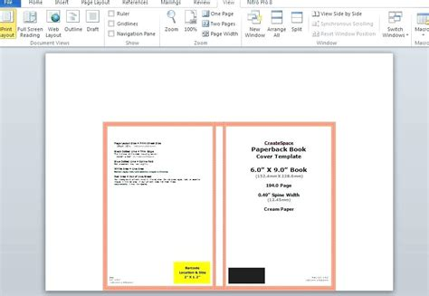 6x9 book template for word 6 215 9 book template for word deepwaters info