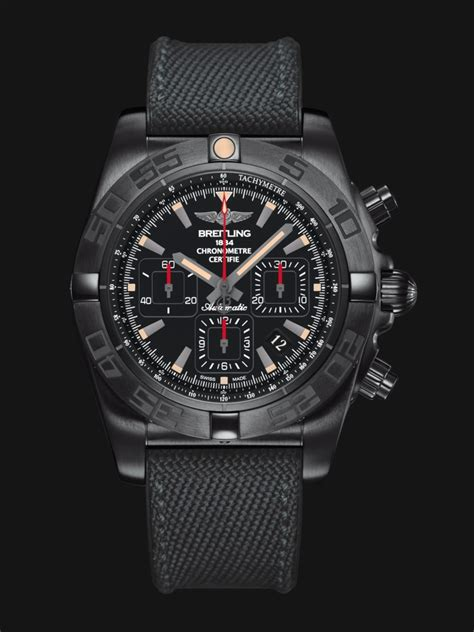 Breitling Black chronomat 44 blacksteel versions breitling