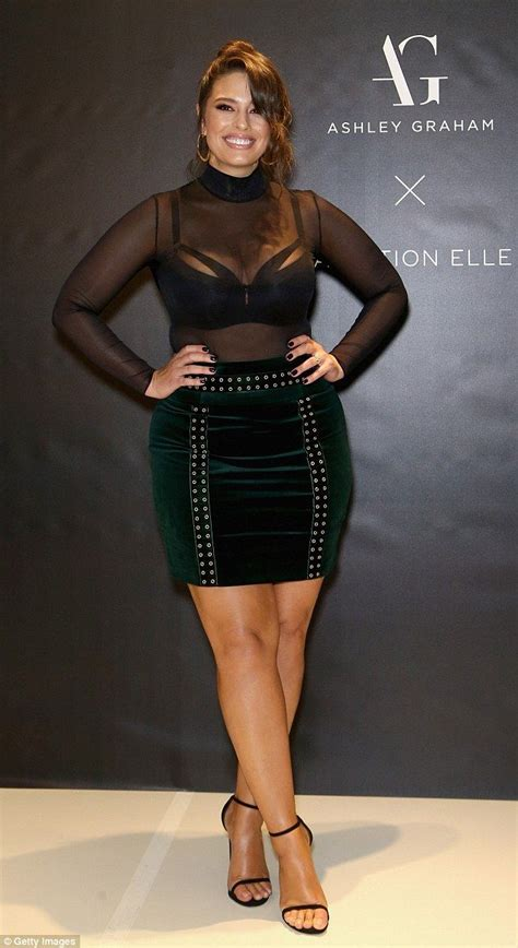 Fashion Friend Couture In The City On Plus Size Fashion by Graham Showcases Figure In See Through Top