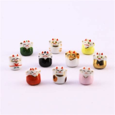 super small super tiny cat lucky dolls japanese dolls and crafts
