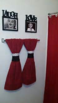 Black White And Red Bathroom Decorating Ideas black and red bathroom decorating ideas 314 black and red bathroom