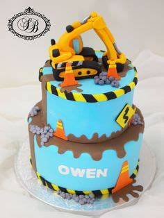 Digger Cake Template by G 226 Teau Baby Shower Gluten Free Cake Blue With Nattou