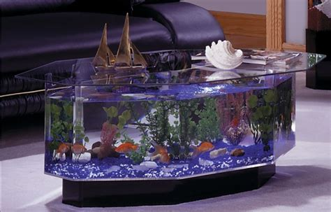 fish tank coffee table aquariums