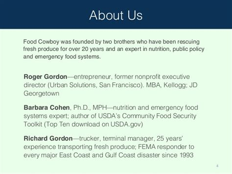 Food Systems Mba by Food Cowboy Technology Against Food Waste