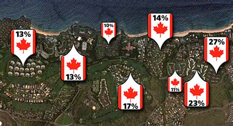 Canadian County Property Tax Records Canadians Own More Than 10 Percent Of Wailea Real Estate