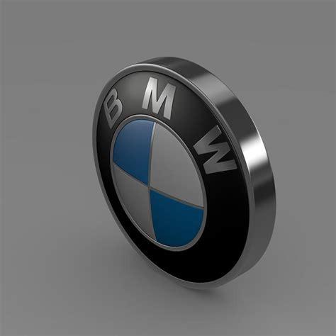 logo bmw 3d bmw logo 3d model in autodesk fbx file fbx lightwave