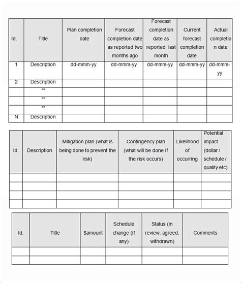 monthly reports templates monthly report template monthly financial report template