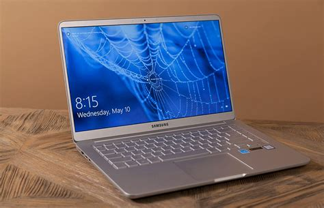 Samsung Laptop Samsung Notebook 9 15 Inch Review Big Screen Feather Light