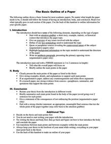 College Research Paper Outline Science by Research Paper Outline Sles Exles Plus How To