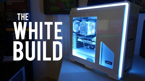Fan Casing Built Up 19cm the white build