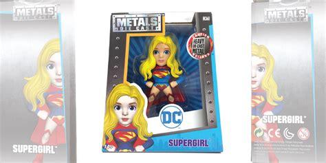 Metals Figure 4 Supergirl metals die cast dc comic 4 figures
