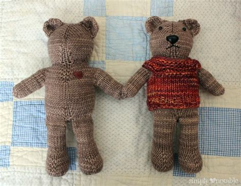 free patterns for knitted teddy bears 281 best images about dolls and clothing on