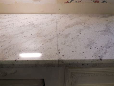 Kitchen Islands With Granite Tops Granite Seam Making Me Angry Can It Be Improved