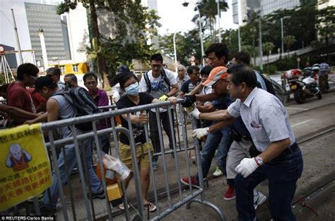 Pro Di Hongkong manifestanti pro democrazia arrabbiati 5 hong kong manifestanti rabbia