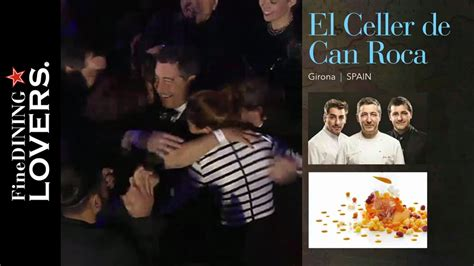 el celler de can roca first at the 50 best 2015 fine dining lovers by s pellegrino acqua
