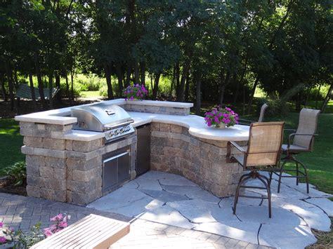 custom backyard custom outdoor kitchens patio traditional with bbq cedar