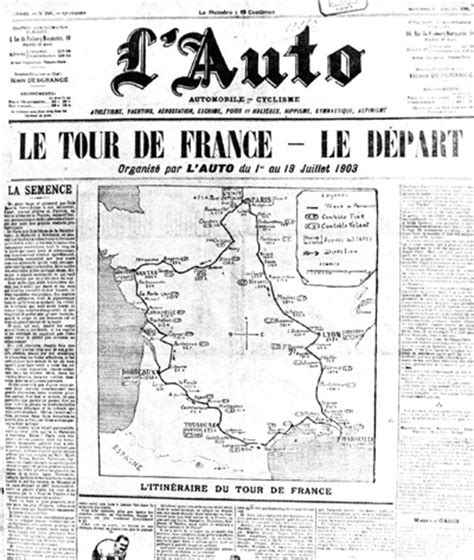 öl Auto by History Of The Tour De Origins And Early Years