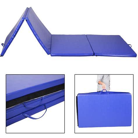 10 x 12 blue mat 4 x10 x2 quot gymnastics folding exercise mats