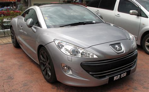 peugeot silver peugeot rcz silver exle already spotted months ago