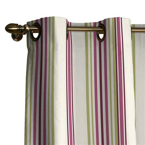 Vorhang Lila by Vorhang 214 Sen Creme Lila Gr 252 N Gestreift 2 Gr 246 223 En