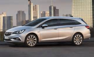 Opel Astra Wagon New 2016 Opel Vauxhall Astra Sports Tourer Is Ready For