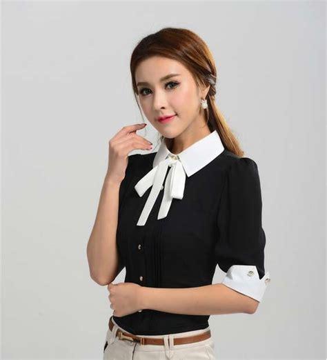 Dress Korea Hitam Zipper Import Promo Murah kemeja wanita warna hitam terbaru model terbaru jual murah import kerja