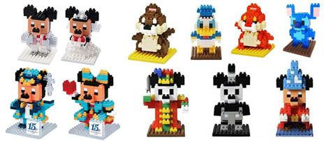 Nano Block Disney Series nanoblock the master builder s guide to japan s tiny