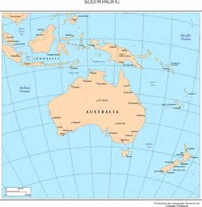 pacific south america map maps of the south pacific