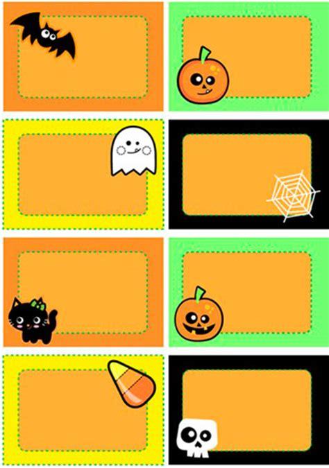 Halloween Gift Card Template - halloween cards halloween name cards printable name cards for halloween