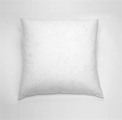 square bed pillows feather down euro square pillow st regis boutique