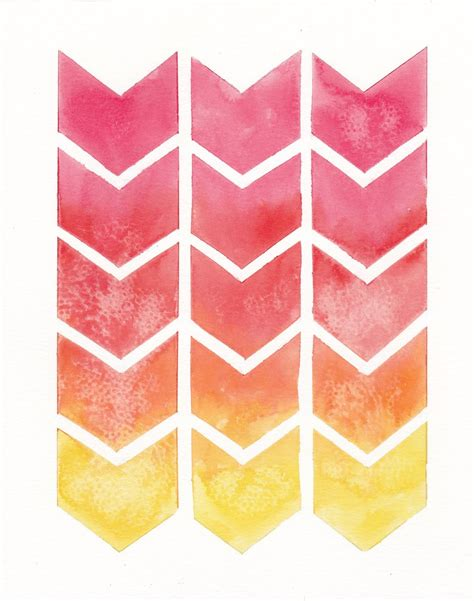 pink ombre pattern ombre chevron pattern by goldensplash