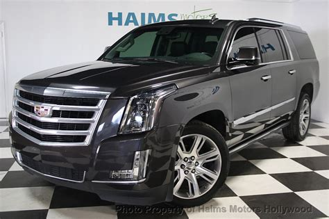 Cadillac Escalade 2015 Used by 2015 Used Cadillac Escalade Esv 4wd 4dr Premium At Haims