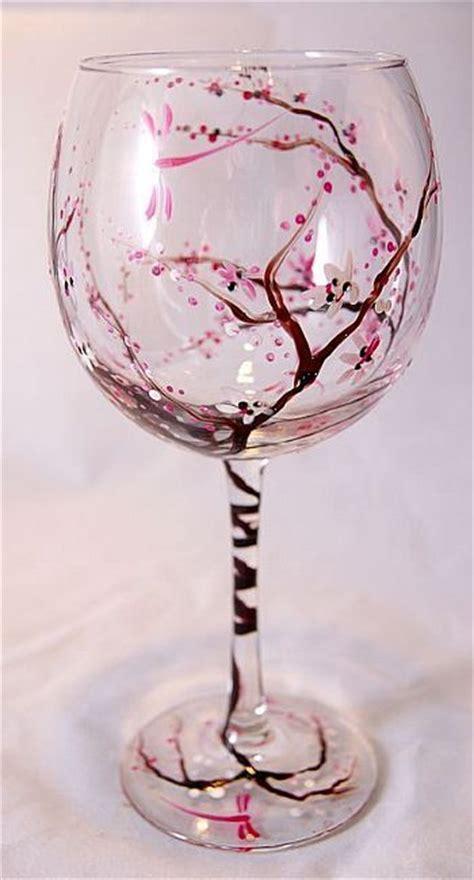 beautiful wine glasses beautiful painted wine glass diy ideas s i think i