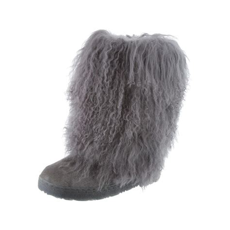 bearpaw boots fur bearpaw boots womens comfortable boetis curly fur 11